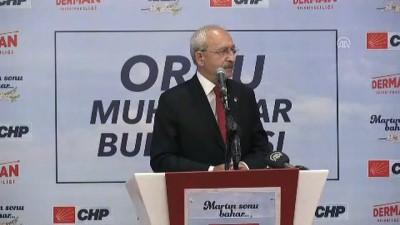 Kılıçdaroğlu : 'Yakında fındık ithal ederlerse hiç şaşmayın' - ORDU