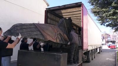 'Troya' iki tırla Rusya yoluna çıktı - ANKARA