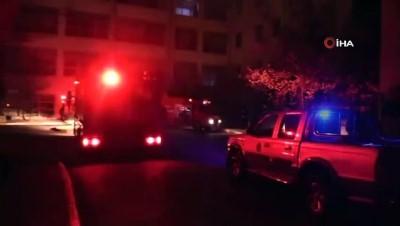 Uşak Üniversitesi Eğitim ve Araştırma Hastanesinde yangın paniği