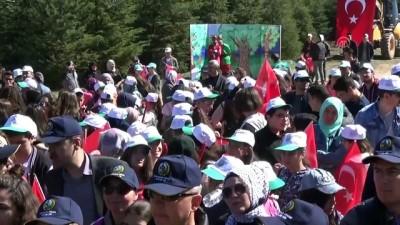ogrenciler - Bin 250 metrede doğa için yürüdüler - AFYONKARAHİSAR