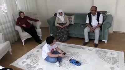 İlkokul öğrencisinin Cumhurbaşkanı Erdoğan sevinci - AMASYA