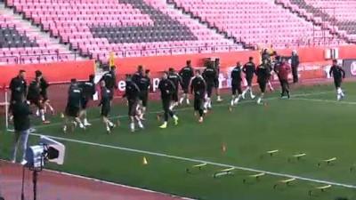 A Milli Futbol Takımı, Moldova maçına hazır - ESKİŞEHİR