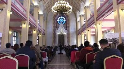 Edirne Büyük Sinagog'da oda müziği dinletisi