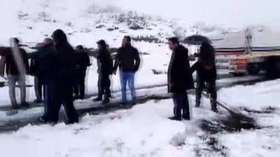 Eruh'ta kar yağışı - SİİRT