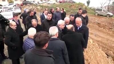 Ulaştırma ve Altyapı Bakanı Turhan'ın ziyaret ve incelemeleri - TRABZON