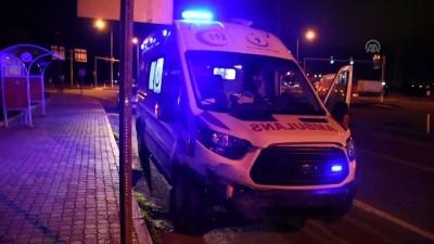 Ambulans ile otomobil çarpıştı: 5 yaralı- MALATYA Video