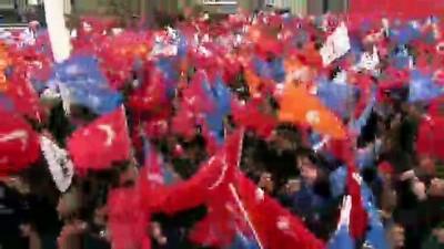 Cumhurbaşkanı Erdoğan Ağrı mitingine katıldı