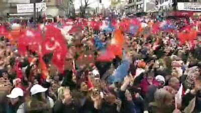 Cumhurbaşkanı Erdoğan: 'Bu şehir yıllarca terör gölgesi altında çok şeyler kaybetti'- AĞRI