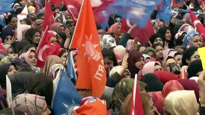 Cumhurbaşkanı Erdoğan: 'HDP, İstiklal Marşımızın, bayrağımızın düşmanıdır' - AĞRI
