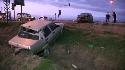 Elbistan'da trafik kazası: 1 yaralı - KAHRAMANMARAŞ Video