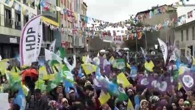 HDP mitingi - BİNGÖL