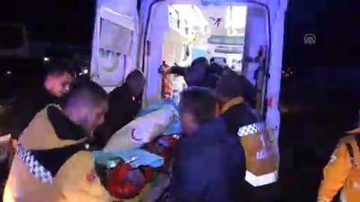 trafik kazası: 11 yaralı (3) - ERZİNCAN