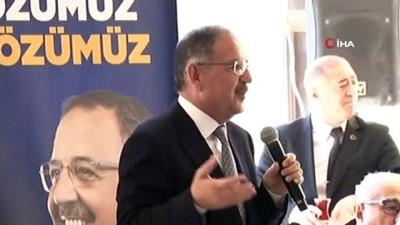 AK Parti Ankara Büyükşehir Belediye Başkan Adayı Mehmet Özhaseki, 'Birlik Vakfı' kahvaltı toplantısına katıldı