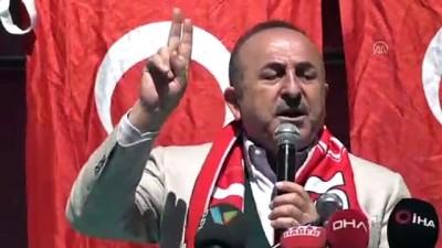 Bakan Çavuşoğlu: 'İki güzergahtan gelecek hızlı trenin merkezi Aksu olacak' - ANTALYA