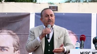 Bakan Çavuşoğlu: 'Sizi terör örgütleriyle birleştiren ne' - ANTALYA