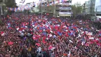 Cumhurbaşkanı Erdoğan: 'Bizim trenden inenler bir daha bu trene binemeyecekler' - ADIYAMAN