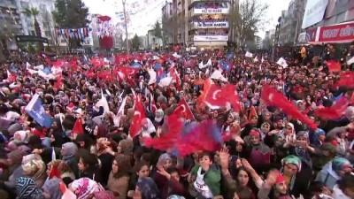 Cumhurbaşkanı Erdoğan: 'Bu dava millete hizmet davasıdır' - ADIYAMAN