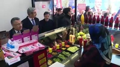 Cumhurbaşkanı Yardımcısı Oktay esnafı ziyaret etti - YOZGAT