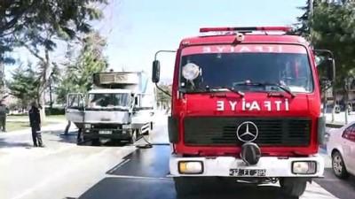 Kamyon yangını - ISPARTA