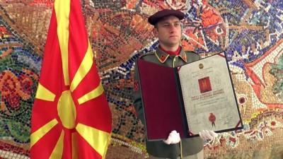 Kuzey Makedonya'dan TİKA Başkanı Çam'a liyakat nişanı - ÜSKÜP