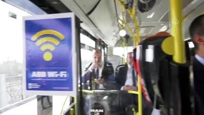 EGO otobüslerinde ücretsiz internet - ANKARA