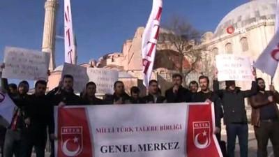 Erdoğan'ın Ayasofya ile ilgili sözlerine Milli Türk Talebe Birliği'nden tam destek