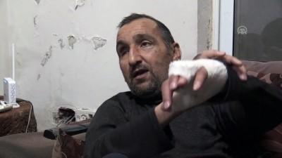 İsrail güçlerince darp edilen âmâ Filistinli hala dehşet anlarının etkisinde (2)