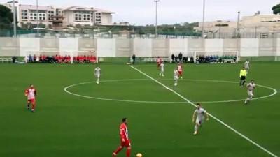 devre arasi - Antalyaspor-Çaykur Rizespor hazırlık maçı - ANTALYA