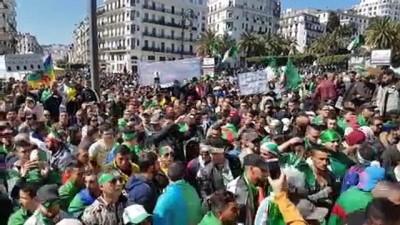 Cezayir'de Buteflika karşıtı gösteriler sürüyor - CEZAYİR