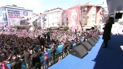 Cumhurbaşkanı Erdoğan: 'CHP'nin adayına oy verdiğinizi sanacaksınız ama belediyeyi kandilin militanları yönetecek'