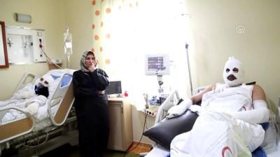 Gaz kaçağını çakmakla kontrol eden çift hastanelik oldu - ERZURUM