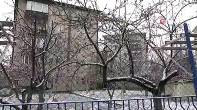 Nevşehir'e Mart ayında yağdı