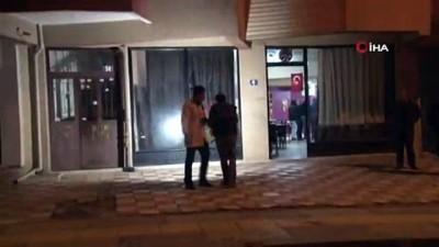 olay yeri inceleme -  Başkent'te kahvehaneye ateş açıldı