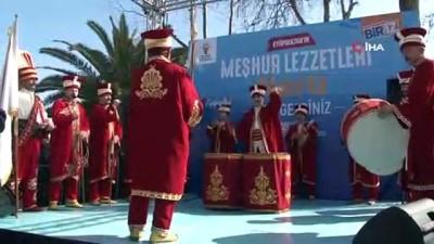 """""""Eyüpsultan'da Meşhur Lezzetler Festivali'ne yoğun ilgi"""