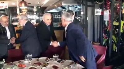 İsmet Yıldırım, Ümraniye'deki Erzincanlılar ile bir araya geldi