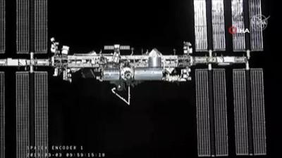 - Spacex Uzay Aracı Uluslararası Uzay İstasyonuna Ulaştı