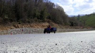 ali il - Batı Karadeniz sahil yolu tekrar trafiğe açıldı - DÜZCE