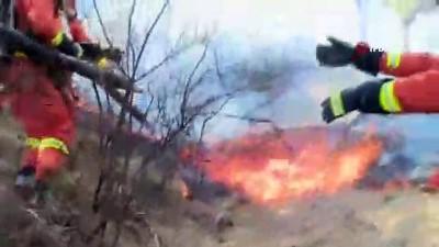 itfaiye araci - Çin'de Orman Yangını: 6 Bin Kişi Tahliye Edildi