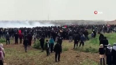- Gazze sınırında bir kişi daha hayatını kaybetti - Gazze sınırında ölen Filistinlilerin sayısı 2'ye yükseldi