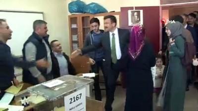 iran secimleri -  AK Parti'li Hamza Dağ oyunu kullandı