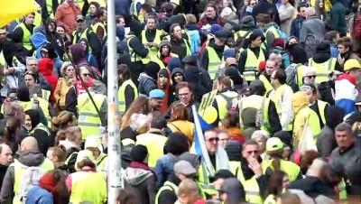kuresel isinma - Belçika'da iklim protestosu - BRÜKSEL