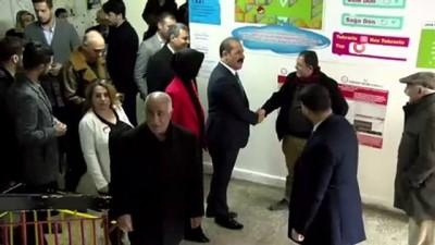 Elazığ'da AK Parti ve MHP'li başkan adayları oylarını kullandı