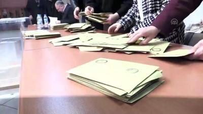 Oy sayım işlemi başladı - GÜMÜŞHANE