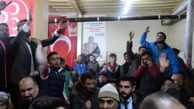 ali il - Sarıkamış ilçesinde belediye başkanlığını kesin olmayan sonuçlara göre, MHP adayı Hayali kazandı - KARS