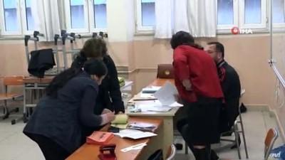 Tunceli'de oy kullanma işlemi başladı