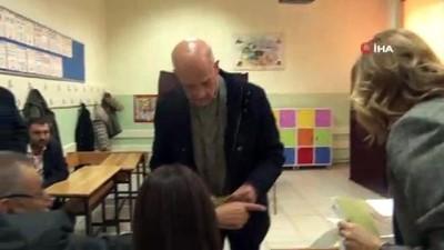 oy kullanimi - Ünlü iş adamı İnan Kıraç oyunu kullandı