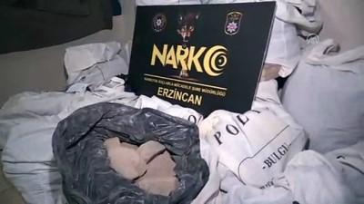 293 kilogram 200 gram eroin ele geçirildi - ERZİNCAN