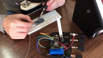 bluetooth - Afazi hastaları için 'etkileşimli robotik eldiven' geliştirdiler - GİRESUN