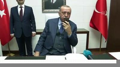 Cumhurbaşkanı Erdoğan'dan 'Mavi Vatan 2019 Tatbikatı'na katılan birliklere başarı dileği - BARTIN