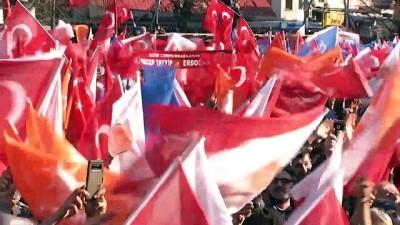 Erdoğan, Bartın'da halka hitap etti - BARTIN
